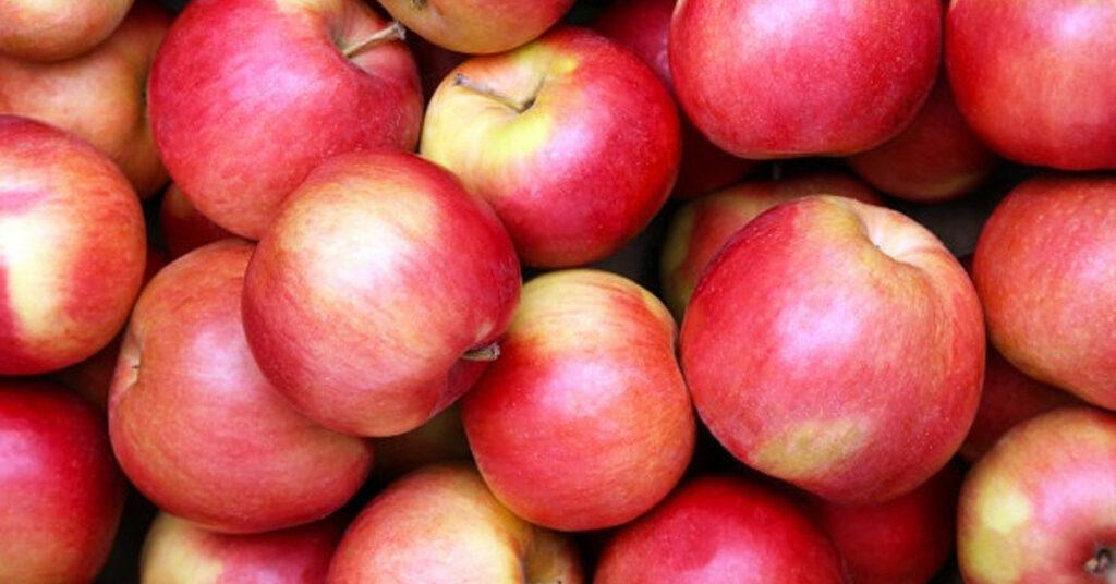 Ingredientes de la receta estrella de manzanas de caramelo