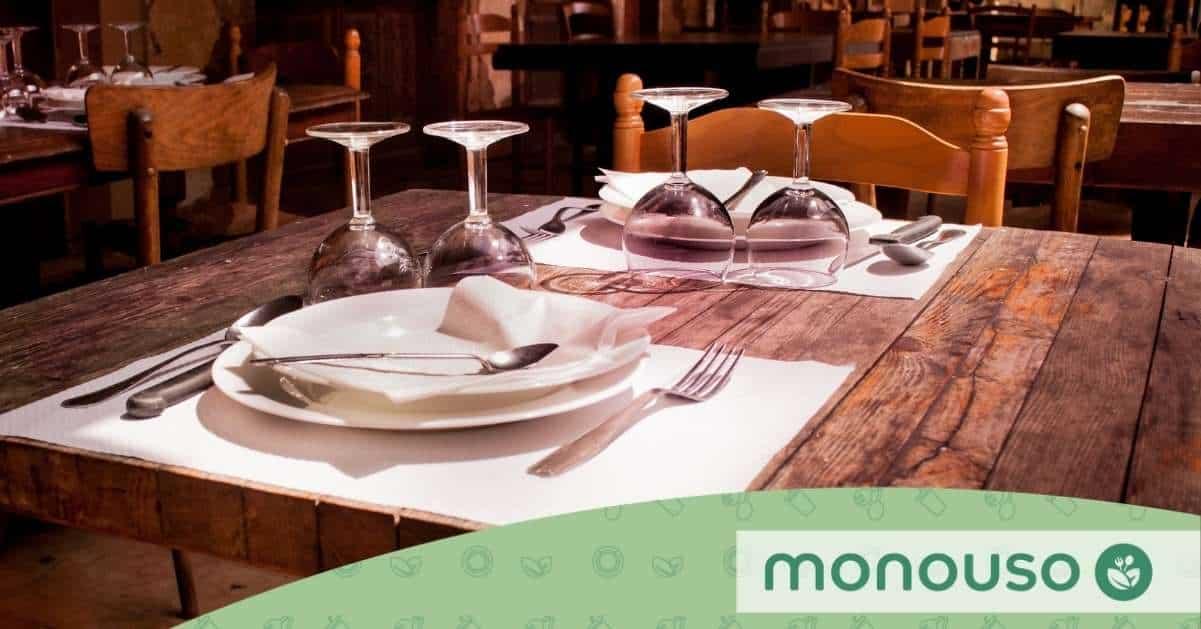 Cambia tu estilo usando mesas de restaurantes modernos